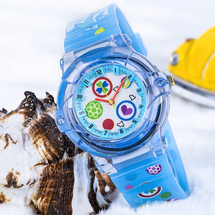 Açık Mavi Renk Silikon Kordonlu Spectrum Marka Çocuk Saat...