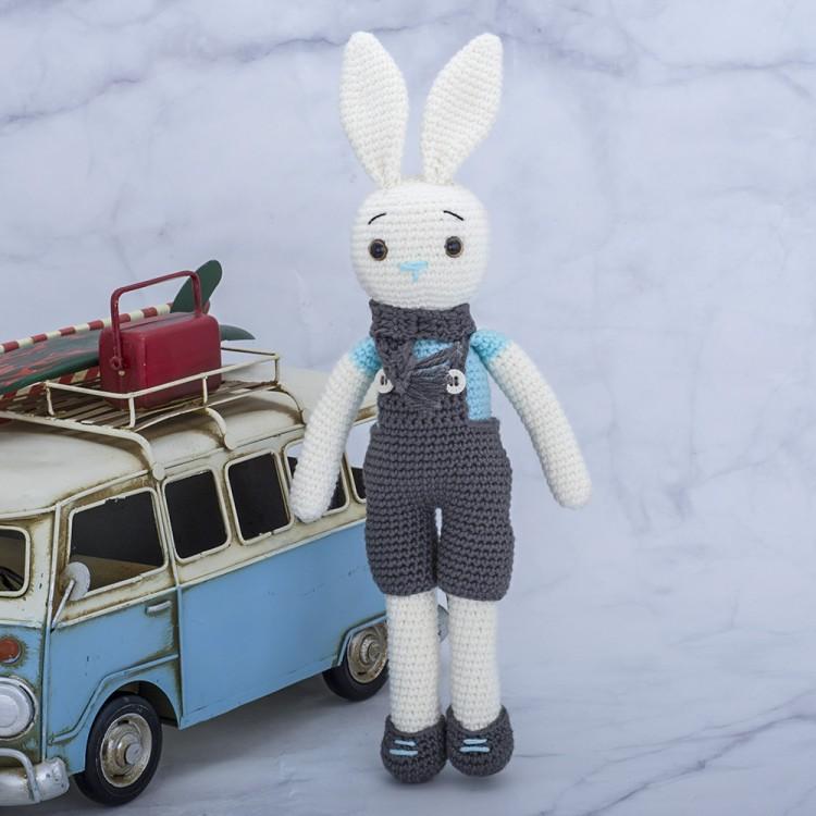Amigurumi Oyuncak El Örgüsü Organik Sevimli Tavşan Boyutlar ...