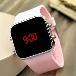 Dijital Bayan Genç Kadın Led Kol Saat Spectrumwatch Silikon Bileklik...