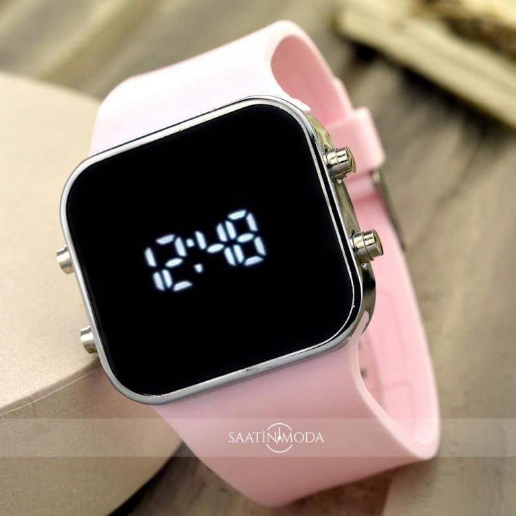 Dijital Bayan Genç Kadın Led Kol Saat Spectrumwatch Silikon Bileklik ST-303540