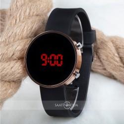 Dijital Led Watch Bakır Silikon Kordon Unisex Kol Saat ST-303483...