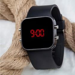 Kadın/Erkek Led Dijital Spor Kol Saati Silikon Bileklik Saat...