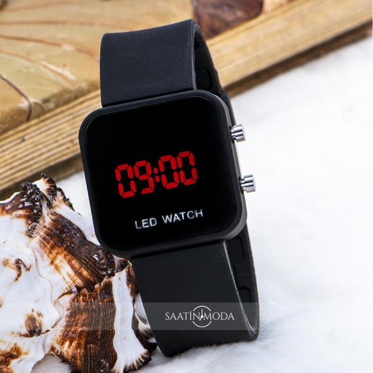 Kare Watch Mini Kasa Unisex Dijital Led Kol Saati ST-303612