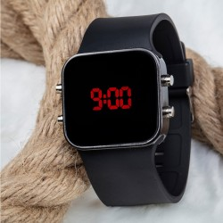 Orijinal Spectrumwatch Led Dijital Kol Saat Silikon Bileklik Siyah Saa...