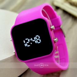 SaaTTino Led Ekran Trend Model Silikon Kordon Genç Kız Kadın Kol Saati...