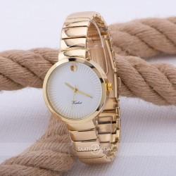Yeni Gold Renk Çelik Kordonlu Spectrum Marka Kadın Kol Saati ST-303547...