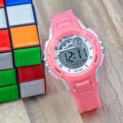 Şık Pinkoli Seri 30M Su Geçirmez Kız Çocuk Dijital Kol Saati ...
