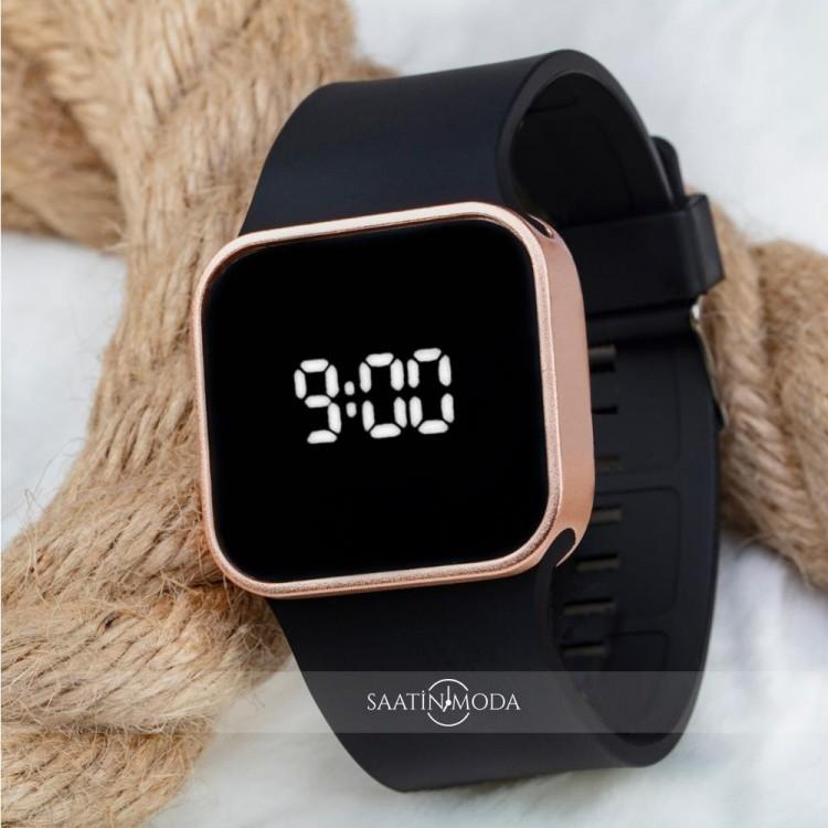 Spectrum Dijital Led Rose Yeni Dokunmatik Kasa Unisex Kol Saati Silikon Bileklik Saat ST-303679