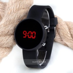 Spectrum Watch Led Black Dijital Silikon Bileklik Kol Saati ST-303481...